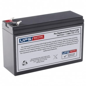 Cyberpower CP625HG Compatible Replacement Battery - Version 2 - Terminals on top