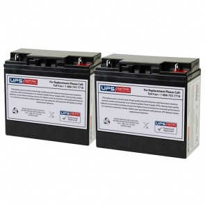 PSJ1812 - DSR Pro Series Jump Starter 12V 22Ah F3 Nut & Bolt Batteries