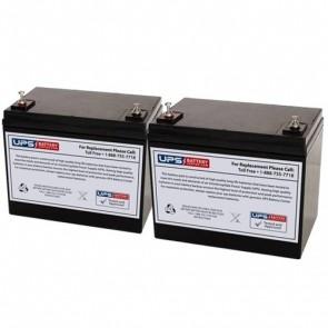 Emmo Mocab Mobility 24V 75Ah Battery Set