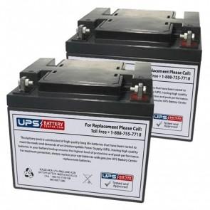 Emmo T345 24V 45Ah Battery Set