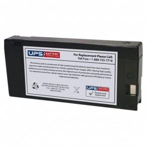 F&H 12V 2Ah UN2.0-12C Battery with PC Terminals