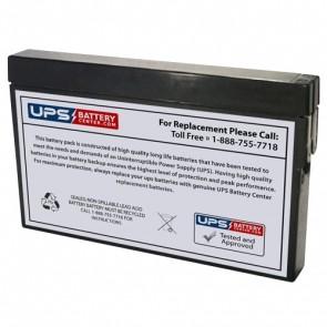 F&H 12V 2Ah UN2.0-12M Battery with Tab Terminals
