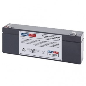 GFX 12V 2.6Ah NP2.5-12 Battery with F1 Terminals