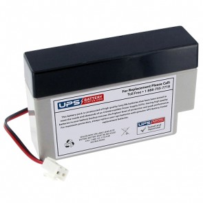 GP 12V 0.8Ah GB0.8-12 Battery with J2 Terminals