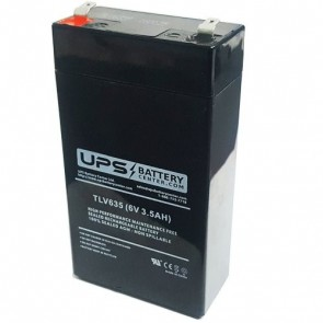 GS Portalac 6V 3.5Ah PE6V3.2 Battery with F1 Terminals
