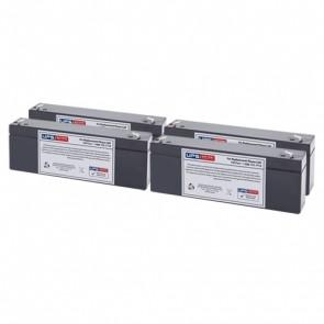 IntelliPower 1100VA 750W FA00360 Compatible Replacement Battery Set