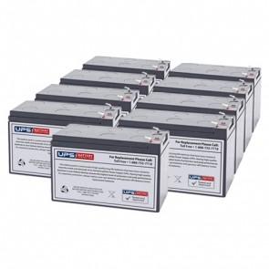 IntelliPower 1100VA 750W FA10223 Compatible Replacement Battery Set