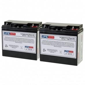 JNC1224 - Jump N Carry Jump Starter 12V 22Ah F3 Nut & Bolt Deep Cycle Batteries