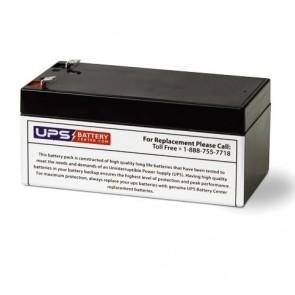 Kaiying 12V 3.2Ah KS3.2-12 Battery with F1 Terminals