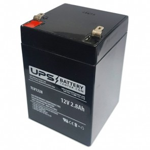 Koyosonic 12V 2.8Ah NP2.8-12 Battery with F1 Terminals