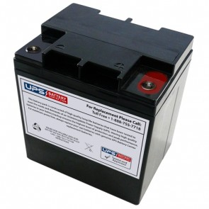 Leoch 12V 24Ah LP12-24H Battery with M5 Insert Terminals