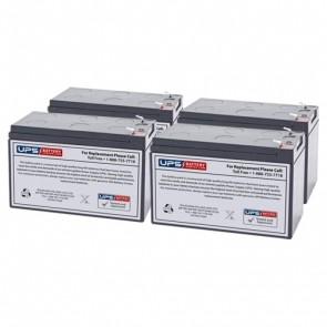 Liebert GXT-1500RT-120 Compatible Replacement Battery Set
