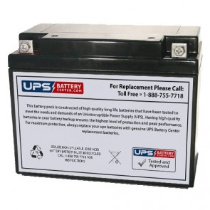 LongWay 6V 20Ah 3FM20 Battery with F3 Terminals