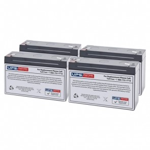 Middle Atlantic Select Series UPS 1000VA UPS-S1000R Compatible Replacement Battery Set