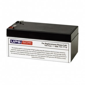National NB12-3.5HR 12V 3Ah Battery