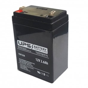 Neata NT12-2.6 12V 2.6Ah Battery with F1 Terminals