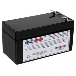NEATA 12V 1.2Ah NT12-1.2 Battery with F1 Terminals