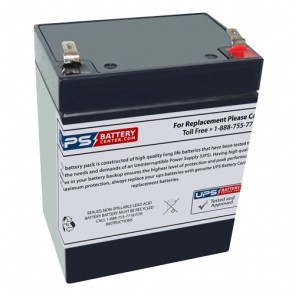 Nihon Kohden 9320 12V 2.9Ah Battery with F1 Terminals
