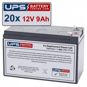 ONEAC SE101XJT Compatible Replacement Battery Set