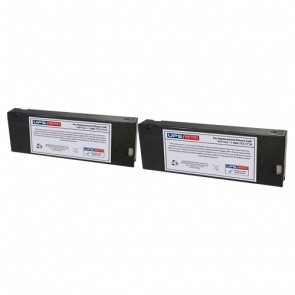 Datascope Passport XG Monitor Batteries - Set of 2
