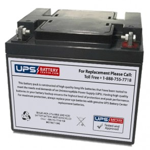 Ultratech UT-12380 12V 40Ah Battery