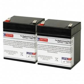 Potter Electric PFC-3002 (Set of 2) 12V 5Ah Batteries