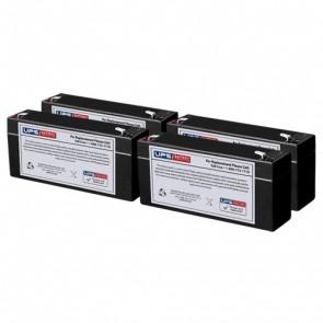 Quinton 710S 6V 3Ah Medical Batteries with F1 Terminals