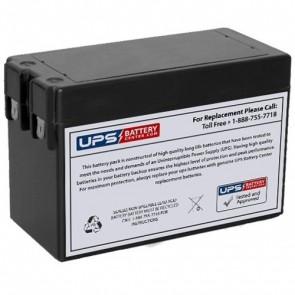 RIMA 12V 2.8Ah UN2.8-12 Battery with F1 Terminals