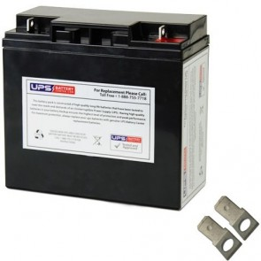 SigmasTek 12V 18Ah SP12-18 Battery with F2 Terminals