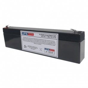 TLV635F - 6V 3.5Ah Sealed Lead Acid Battery with F1 Terminals