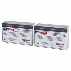 Tripp Lite BC Pro 600VA BCPRO600 Compatible Battery Set - Version 2