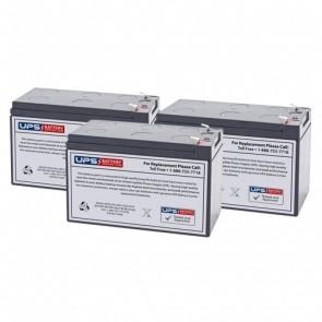 Tripp Lite Smart Pro 1500VA SM1500RMNAFTA Compatible Battery Set