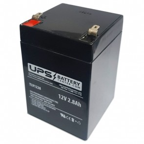 Zonne Energy 12V 2.8Ah FP1228 Battery with F1 Terminals