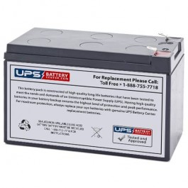 DSC Alarm Systems BD6 5-12 12V 7 2Ah Replacement Battery