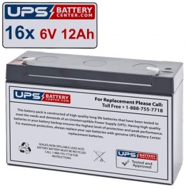 HP Compaq PRA2200A Compatible Replacement Battery Kit
