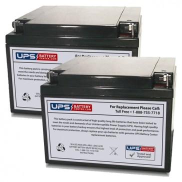 Air Shields Medical C100, C200, C300 Double Transport Incubator Batteries