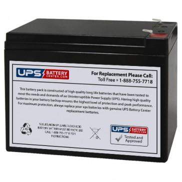 Q-Power QP12-10 12V 10Ah Battery