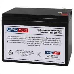 Sentry PM12100 12V 10Ah Battery