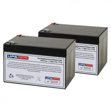 Altronix AL400ULACMCB 12V 12Ah Batteries