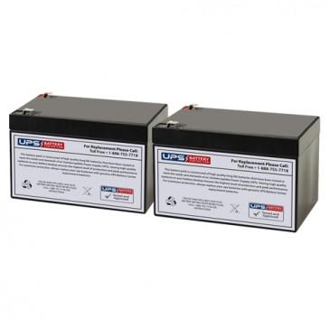 Altronix MAXIM11E 12V 12Ah Batteries
