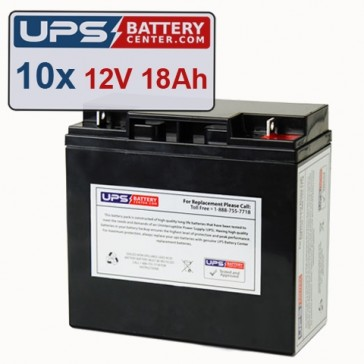 GE Medical Systems CMX Batteries - Set of 10