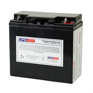 F&H UN17-12 12V 17Ah Battery