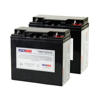 Ergotron SV32 Styleview Cart-40Ah Powered Batteries