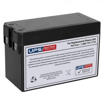 MaxPower NP2.5-12S 12V 2.5Ah F2 Battery