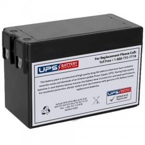 F&H UN2.5-12 12V 2.5Ah Battery