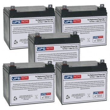 Topaz 83256-01 12V 32Ah Replacement Battery