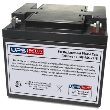Vasworld Power GB12-40 12V 40Ah Battery