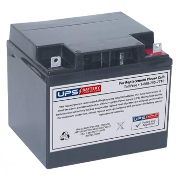 MaxPower NP45-12H 12V 45Ah Battery