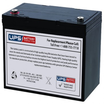 Newmox FNC-1245-F2 12V 5.5Ah Battery