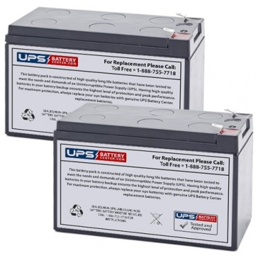 Topaz CUB550 12V 7.2Ah Replacement Batteries
